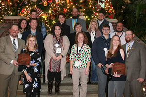 Virginia Young Farmers honored at national convention