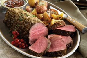 Marketers beefing up holiday ads featuring red meat