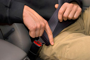 Wearing a seat belt is one of the safest things drivers can do—and it's the law