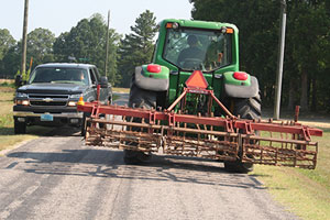 Motorists, be alert: Spring means farm equipment on roads