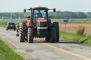Drivers urged to watch for farm equipment on highways