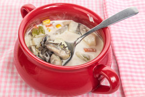 Oyster chowder heats up dinner options