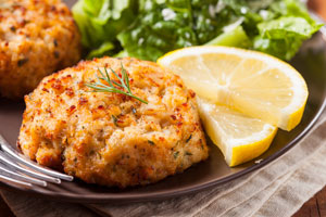 Chef Maxwell's recipe for Crab Cakes