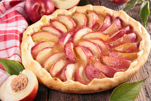 Chef Maxwell's recipe for Peach Pie