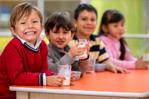 Public schools milking students' increased consumption of dairy products